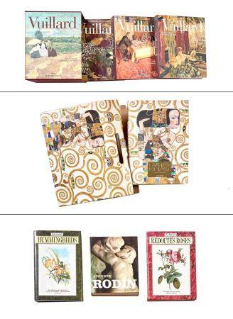 [BOOKS-ARTISTS] Group of approximately five large format wor