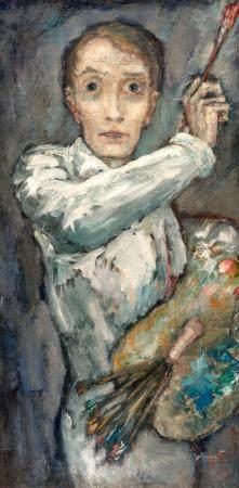 Dietz Edzard German/French, 1893-1963 Auto Portrait No. 5, 1
