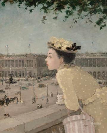 Dietz Edzard German/French, 1893-1963 Place de la Concorde,