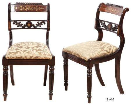 Victorian Style Burr Walnut, Tulipwood and Gilt-Metal Mounte