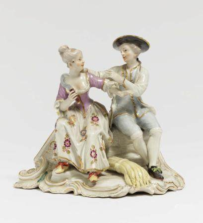 Allegory of summer - Ludwigsburg, circa 1760, model by Johan