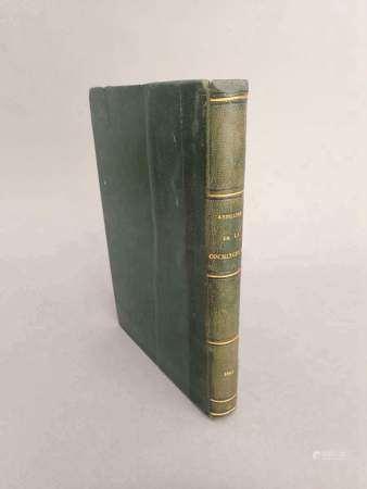 1867 Annuaire de la Cochinchine française. Année 1867.  Saïgon. Imprimerie [...]
