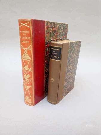 1894 Un ensemble de trois ouvrages sur l'Indochine. - RIOTOR et LEOFANTI, Les enfers [...]