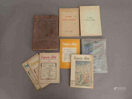 INDOCHINE 1910 Un ensemble de monographies sur l'Indochine. - Annuaire Général de [...]
