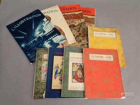 1927 Un ensemble de revues, magazines et monographies sur les arts en Asie et en [...]