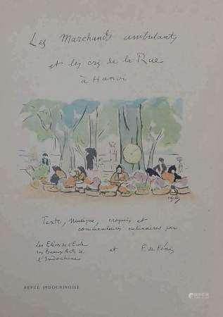 1929. ELEVES DE L'ECOLE DES BEAUX-ARTS DE L'INDOCHINE (LE PHÔ, THO NGOC VAN, [...]
