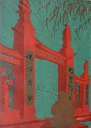 1940 INDOCHINE  Brochure éditée par l'Office Central du Tourisme Indochinois. [...]