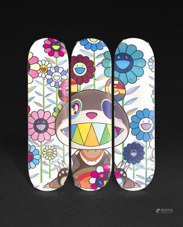 村上隆 Eden Skateboard Deck (2019)