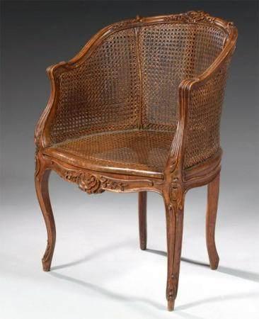 An Oakwood Office Chair