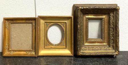 A Group of Gilt Frames
