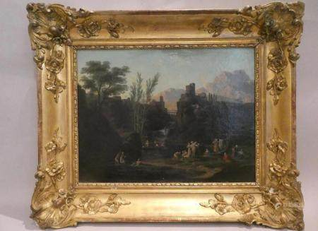A Framed Landscape Painting