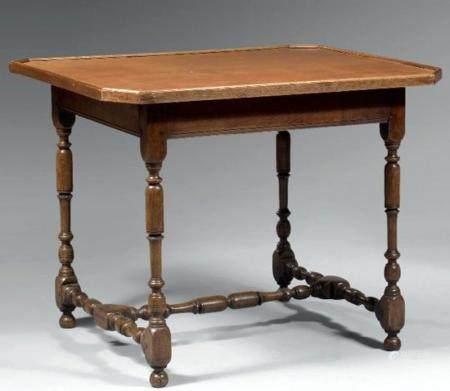 An Oakwood Table