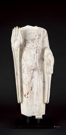 北齊 石雕佛立像