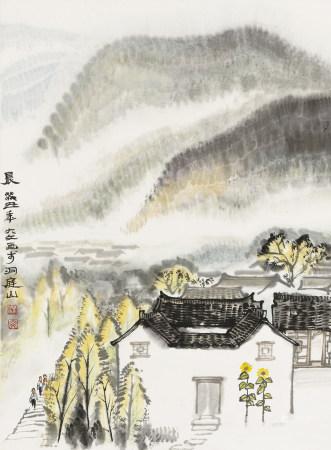 汪大文 b.1942 晨