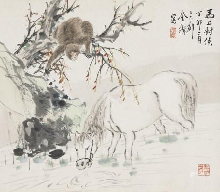 金夢石 1869-1952 馬上封侯