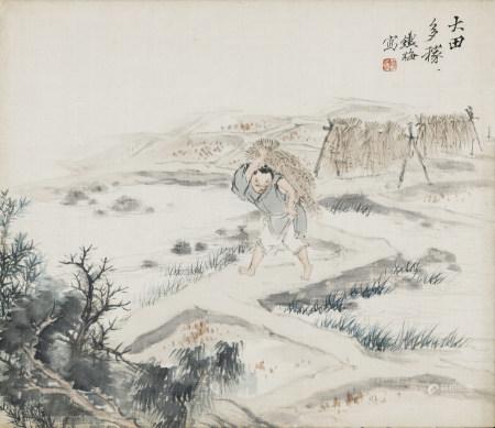胡鐵梅 1848-1899 大田多稼
