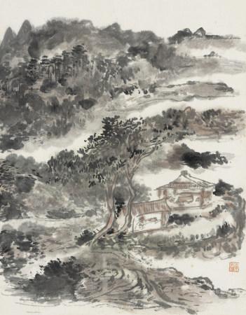 黃賓虹 1865-1955 山水