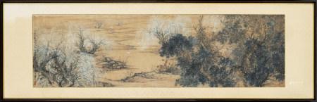 鄧芬 1894-1964 林間白鶴