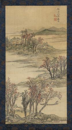 秦儀(清) (?-1795) 山水