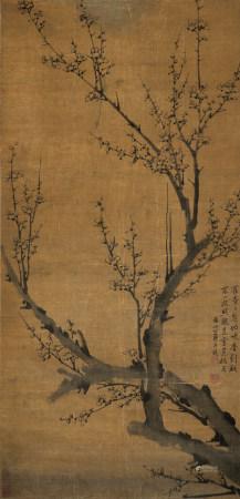 羅聘(清) 1733-1799 墨梅