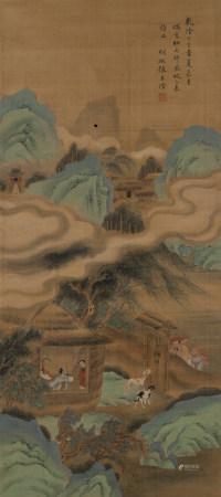 張若澄(清) 1721-1770 山水