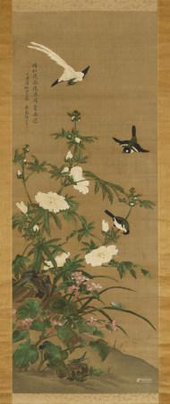 張莘(清)  花鳥