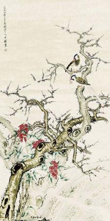 黃忠耀 花鳥