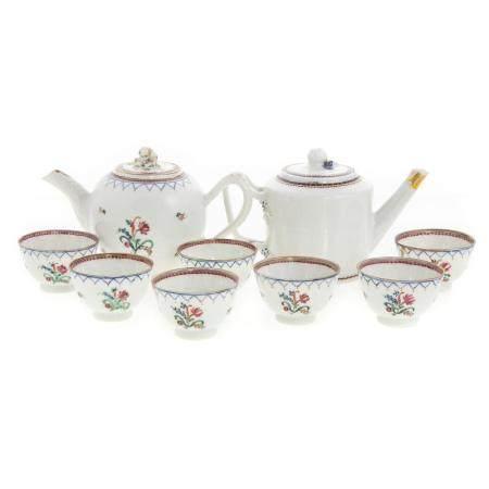 Nine Pieces Chinese Export Child's Tea Ware