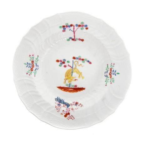 Caughley China Kakiemon Style Dinner Plate