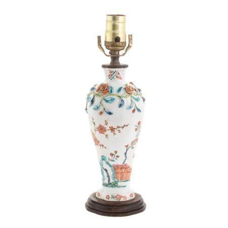 Japanese Kakiemon Vase Lamp