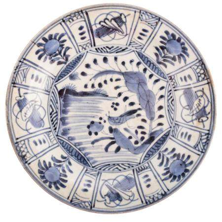 Japanese Kraak Ware Plate