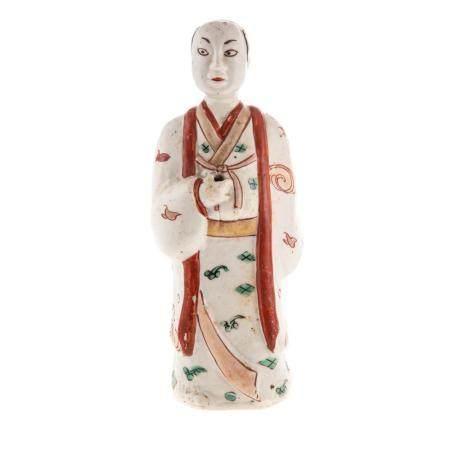 Japanese Kakiemon Figure of a Man