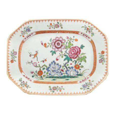 Chinese Export Famille Rose Small Platter