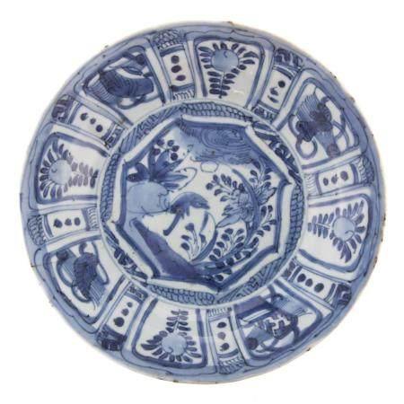 Chinese Kraak Ware Plate