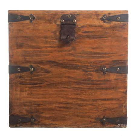 Continental Hardwood Tea Chest