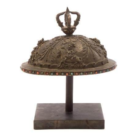 Tibetan Bronze Kapala