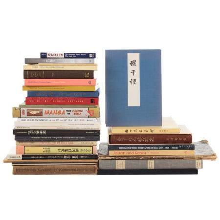 Approx. 25 Books on Japanese Culture & Art