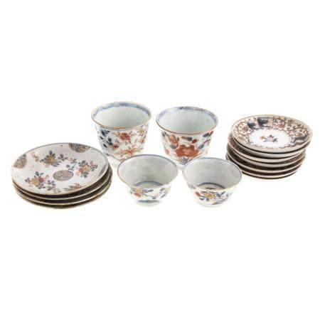 15 Assorted Pieces Chinese Export Imari Porcelain