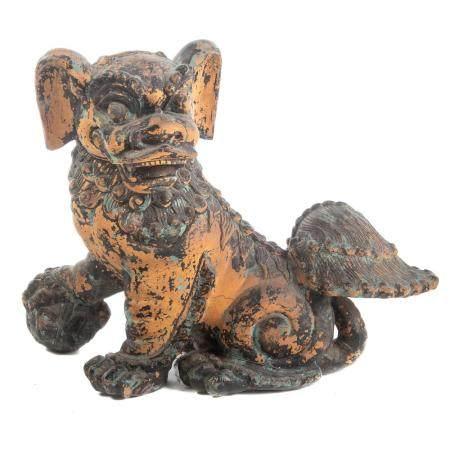 Chinese Clay Foo Dog