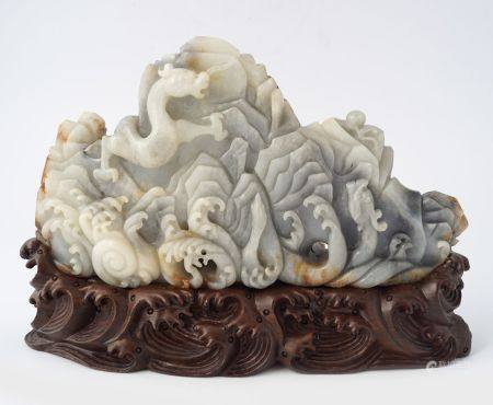 CHINESE QING PERIOD BRUSH REST