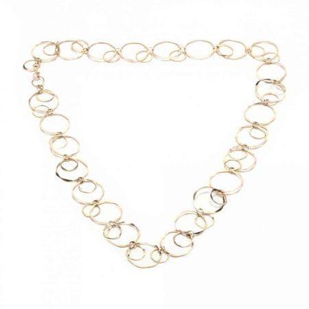 14KT Gold Link Necklace