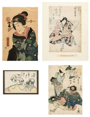 Utagawa Kuniyasu (1794-1832), Utagawa Toyokuni (1769-1825), Utagawa Yoshitora (act. [...]