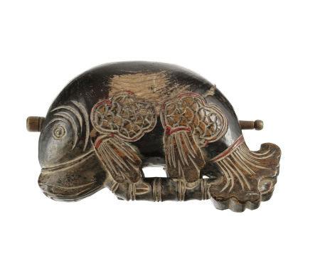 Muyu (mokugyo, instrument utilisé dans le bouddhisme Mahayana) en forme de poisson [...]