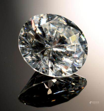 AN UNMOUNTED DIAMOND  of approx 1.05ct