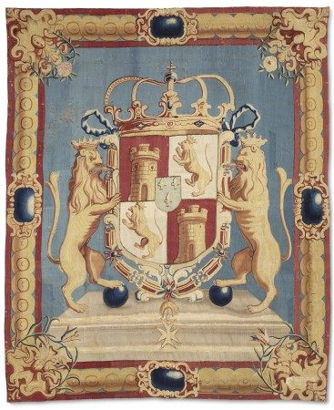 A SPANISH ARMORIAL TAPESTRY