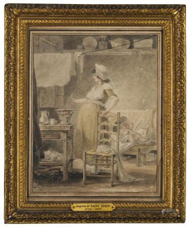 AUGUSTIN DE SAINT-AUBIN (PARIS 1736-1807)