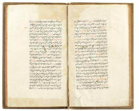 A PERSIAN SAFAVID BOOK, 17TH CENTURY