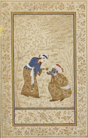 A PERSIAN MINATURE, 20TH CENTURY