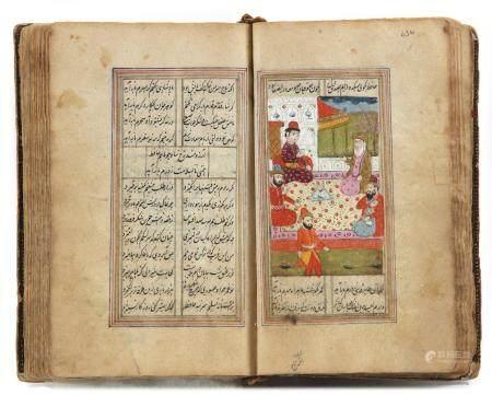 A MUGHAL DIWAN HAFEZ SHIRAZI, 19TH CENTURY
