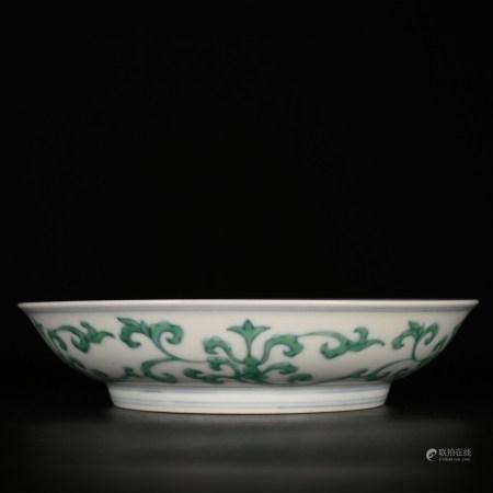 Mingchenghua            Colorful porcelain plate